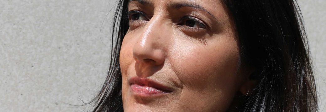 Mature Lady face close-up