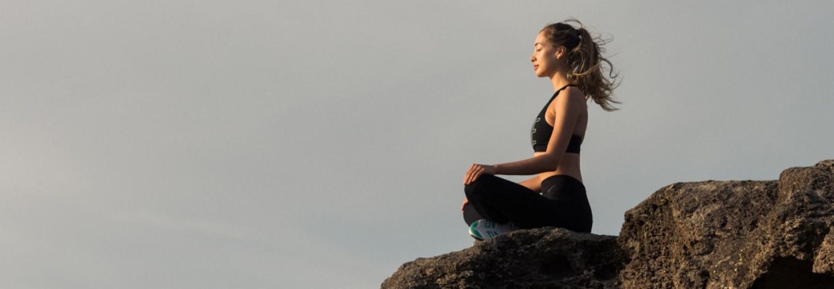 Ashwaghanda calm meditation LYMA