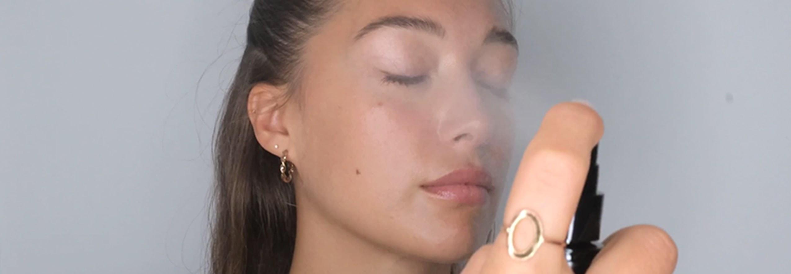 Use Lyma mist to reduce pigmentation
