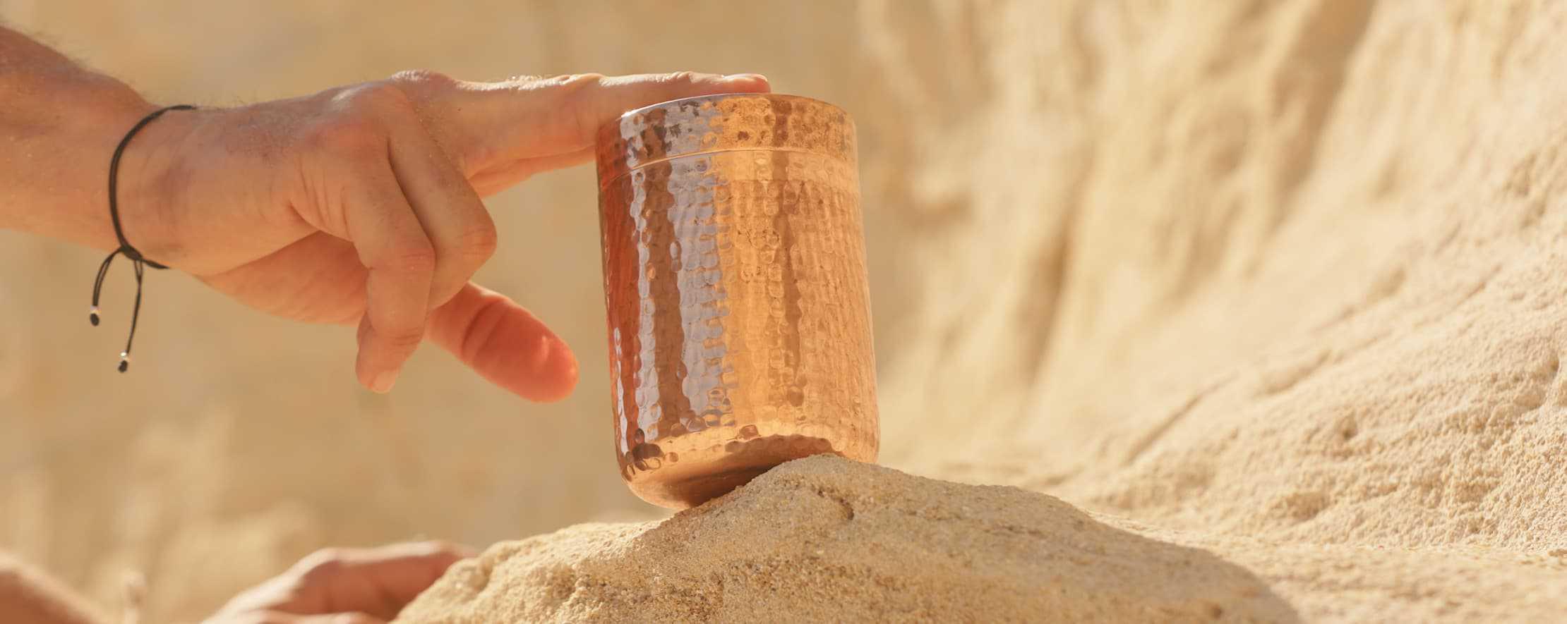 supplement capsules near dunes